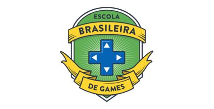 logo escola brasileira de games